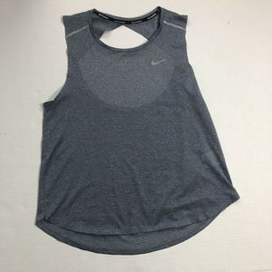 Nike Running Dri-Fit Open Back Workout Top